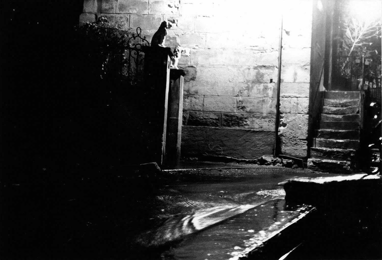 Pluie nocturne, Arles