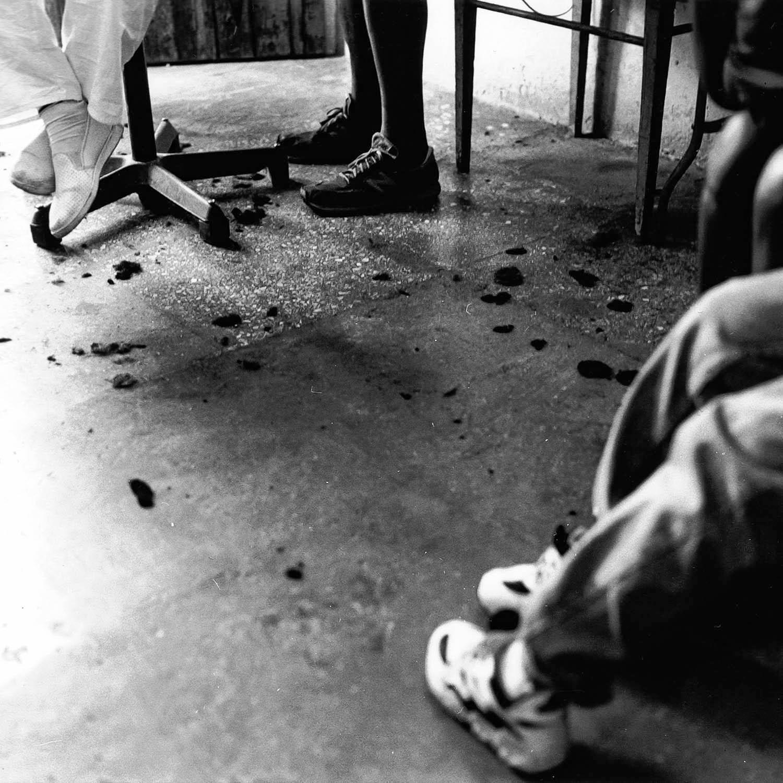 Chez le barbier, La Havane, Cuba 1999