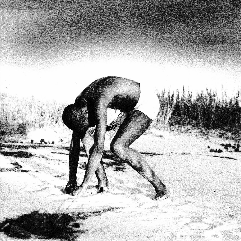Danseur sur la plage, Cuba1999, réticulation