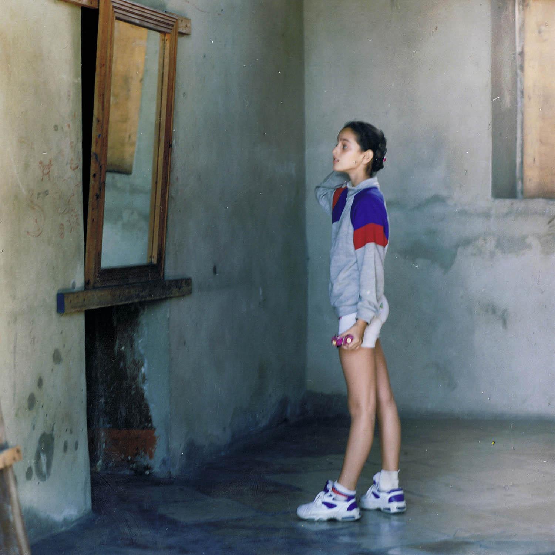 Danseuse face au miroir, La Havane, Cuba1999