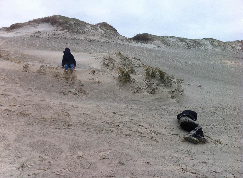 Hiver dans les dunes de Plomeur, Bretagne