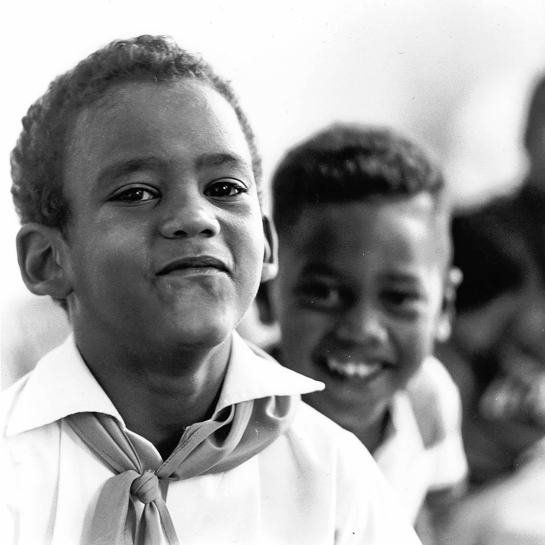 Portrait d'écoliers, La Havane, Cuba 1999