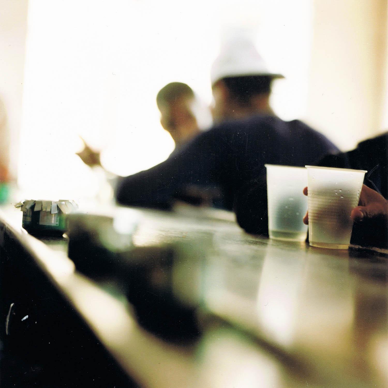 Comptoir de bar de La Havane, Cuba 1999