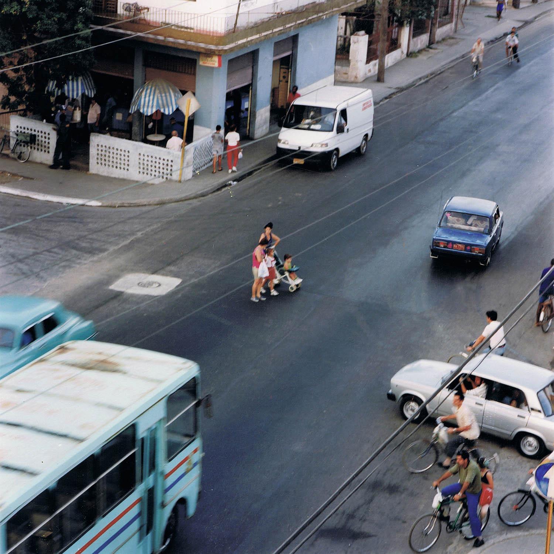 Intersection, La Havane, Cuba 1999
