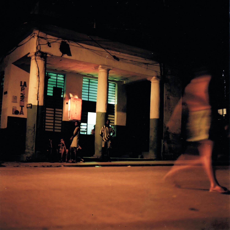 Nuit dans les rues de La Havane, Cuba 1999