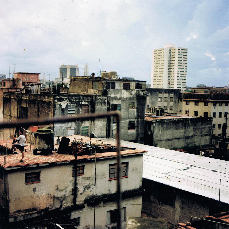 Sur les toits, La Havane, Cuba 1999