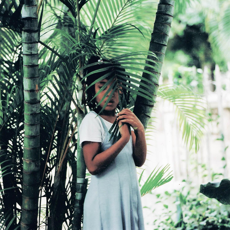 Enfant à la palme, La Havane, Cuba 1999